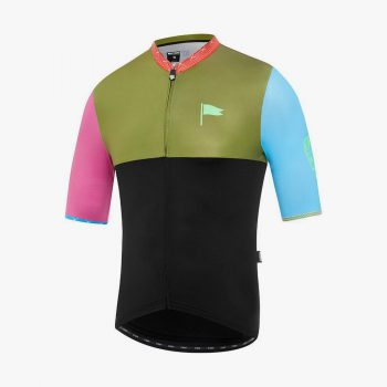 Attaquer x Over Yonder maillot All Day Rock Hopper
