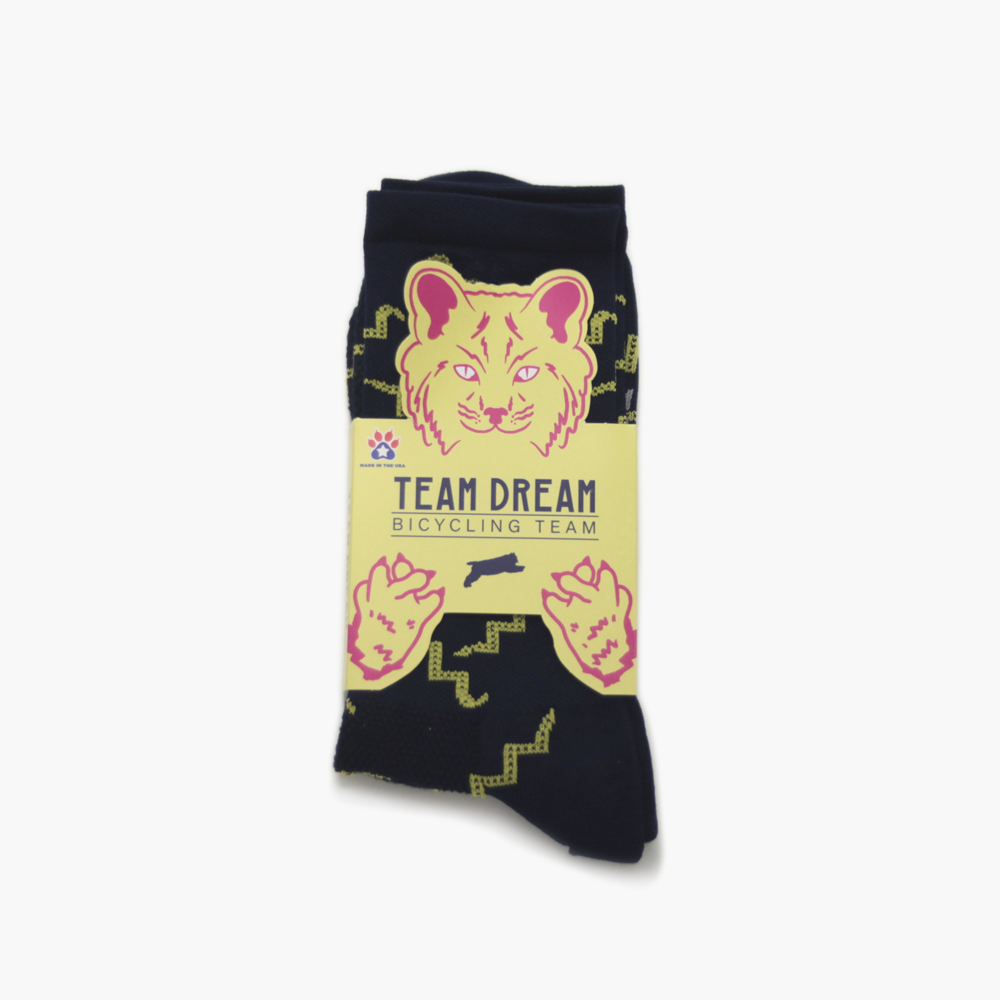 team dream chaussettes rattler team bleu