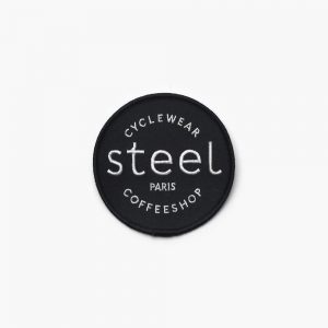 Steel Cyclewear patch noir