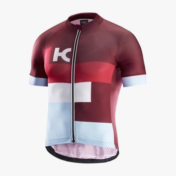 Katusha maillot Superlight rouge bleu clair