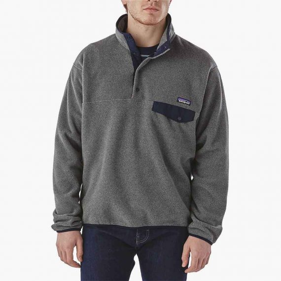 Patagonia pullover Synchilla snap-T fleece rouge