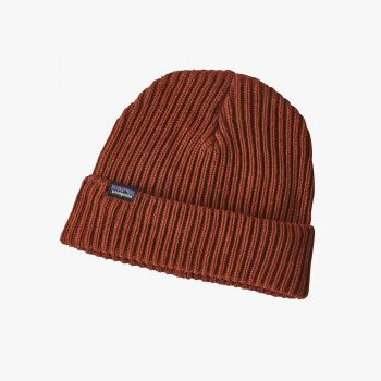Patagonia bonnet Fishermans Rolled Beanie copper ore