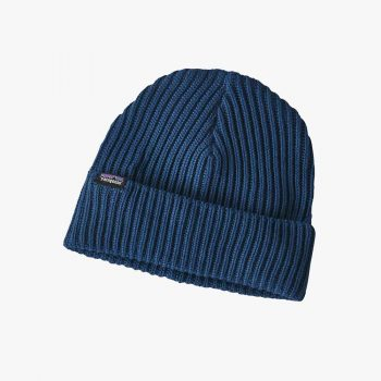 Patagonia bonnet Fishermans Rolled Beanie stone blue