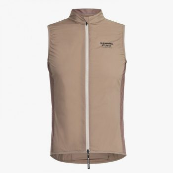 Pas Normal Studios gilet Stow Away beige