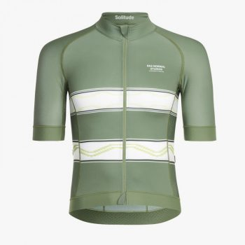 Pas Normal Studios maillot Solitude light green