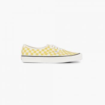 Vans chaussures Authentic 44 DX Anaheim Damier Jaune