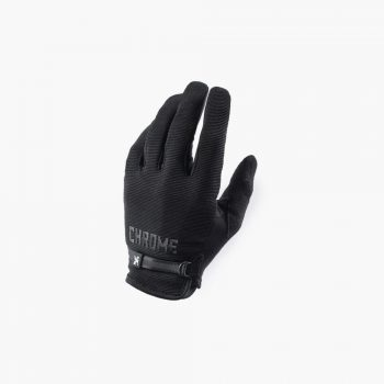 Chrome Gants Cycling Gloves Black