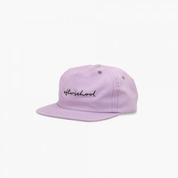 Afterschool Projects Casquette Signature Cap Lilac